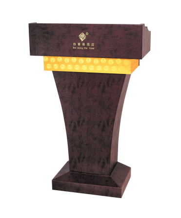 Fenghe-Pulpit Lectern, Hotel Wooden Design Rostrum For Speechhotel Podiumlectern-4