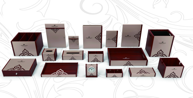 Fenghe-Bathroom Amenity Tray Manufacture | Wholesale Colorful Hotel Guest Room Leather Products