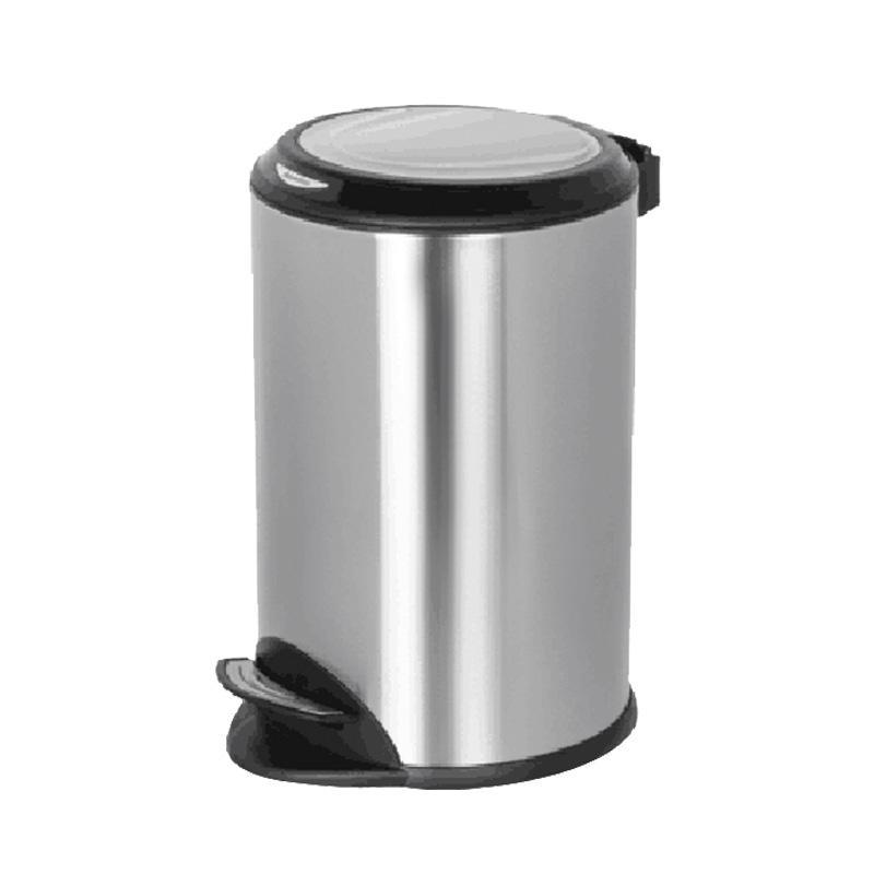 Various styles silver hotel foot pedal trash bin dustbin