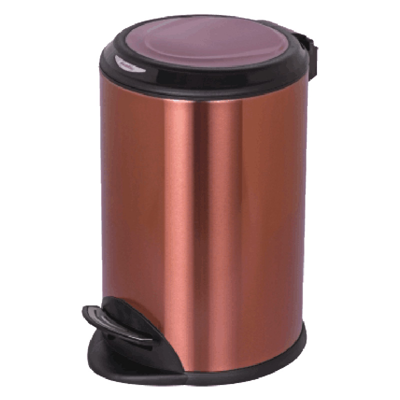 Fenghe-Hotel Bedroom Bins Manufacturer, Stainless Steel Trash Can | Fenghe-1