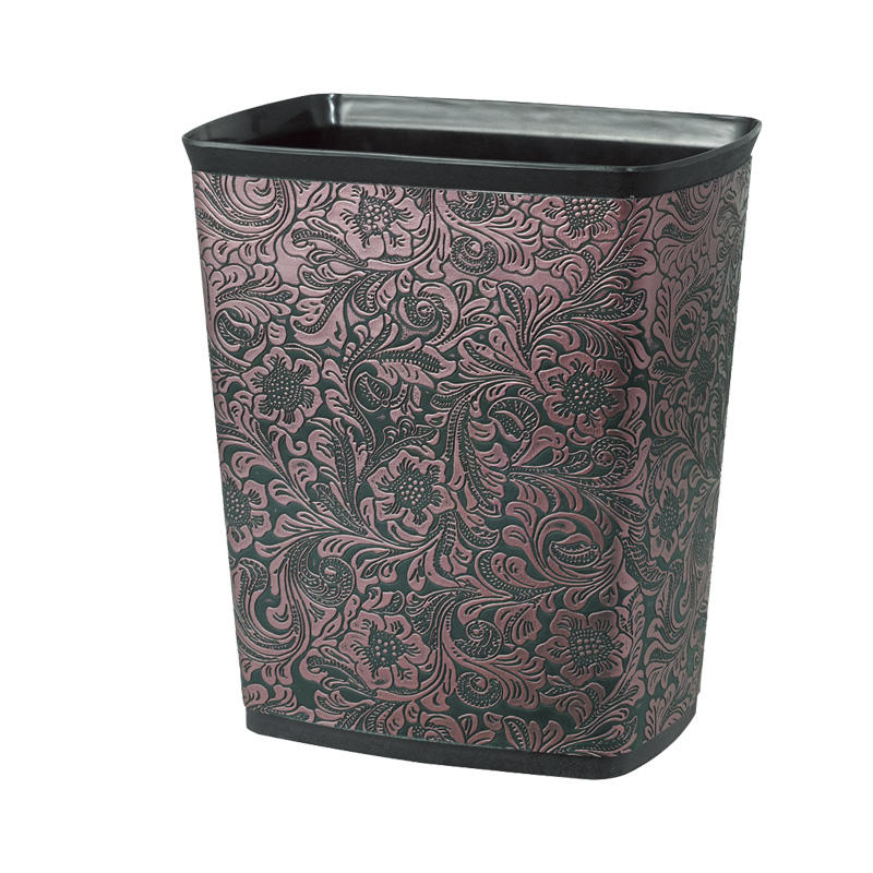 Hotel Eco friendly 10L kitchen plastic waste bins dustbin trash can