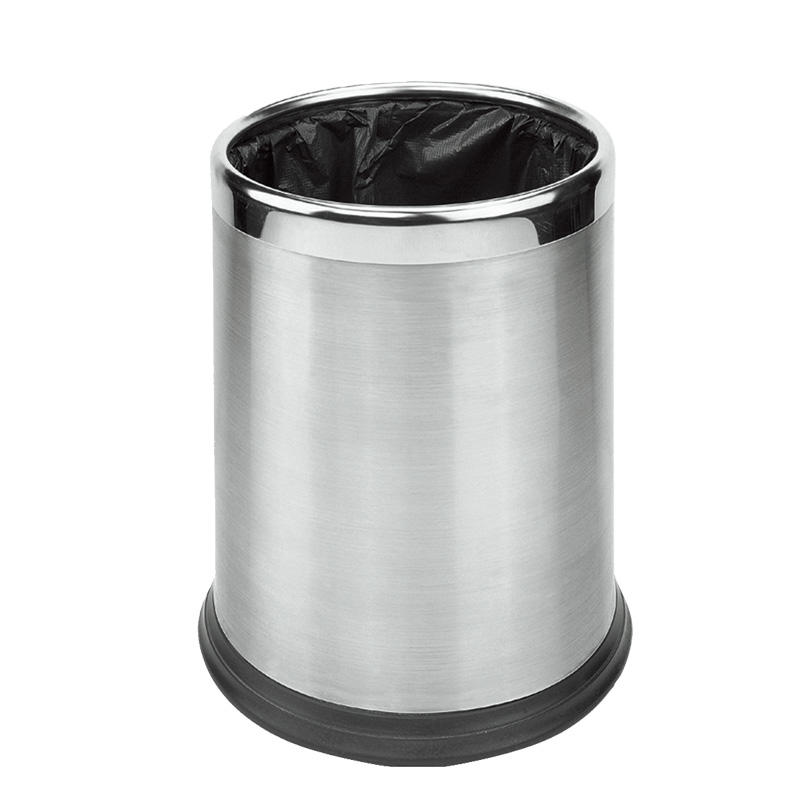 Various styles stainless steel hotel waste bin