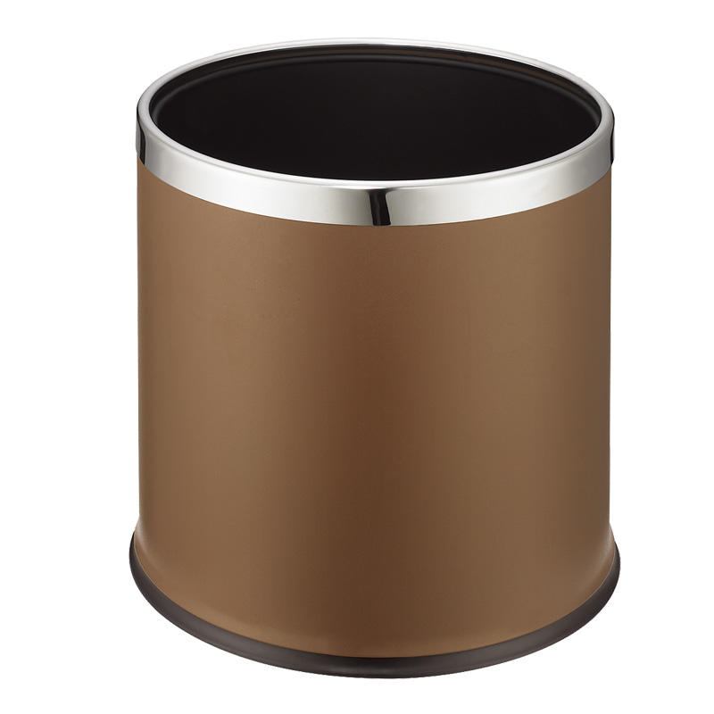Various styles stainless steel hotel waste bin