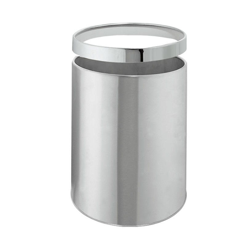 High quality hotel stainless steel room dustbin trash bin