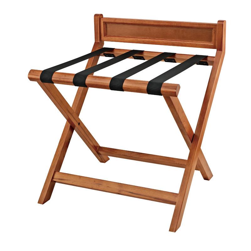 Newest solid wood folding hotel luggage rack
