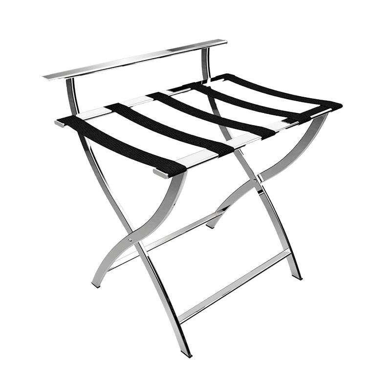 The newest hotel Stainless Steel Portable Luggage Rack Stand