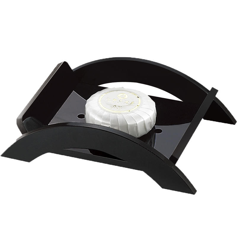 Hotel bathroom set products black bathtub soap dish holder