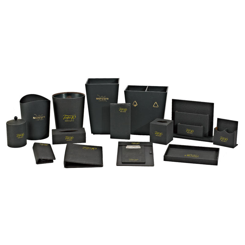 Wholesale hotel room black leather folder products hotel leather menu cover restaurant menu cover