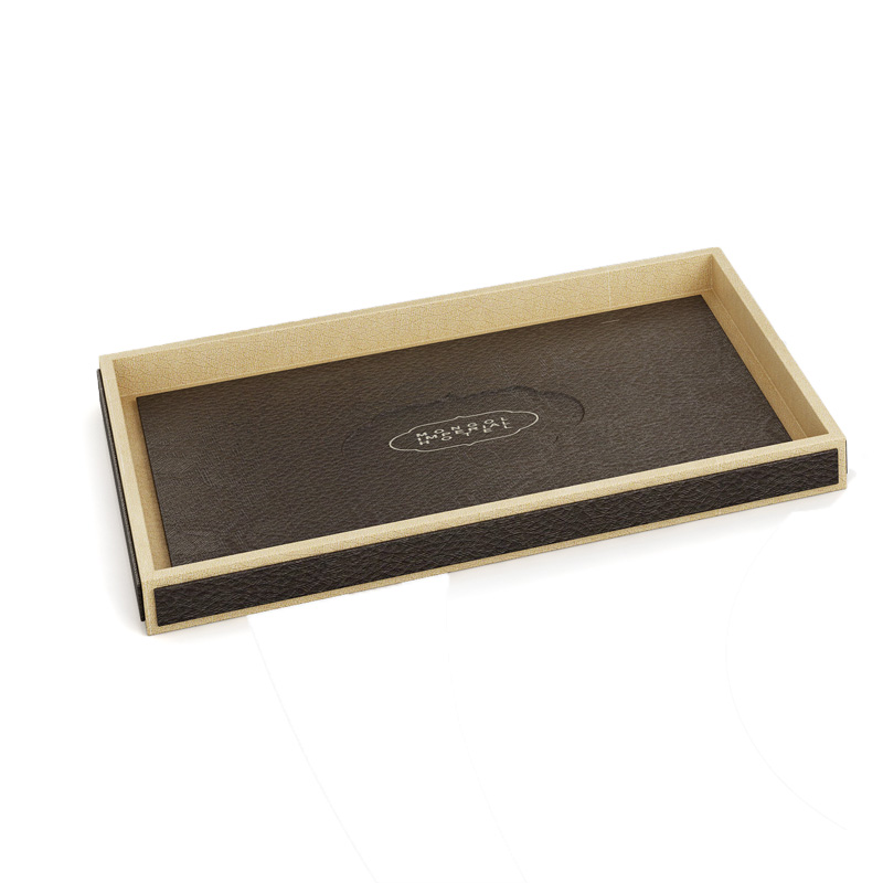 Fenghe-Find Hotel Folder Hotel Dark Brown Leather Products, A4 Menu Folder,-2