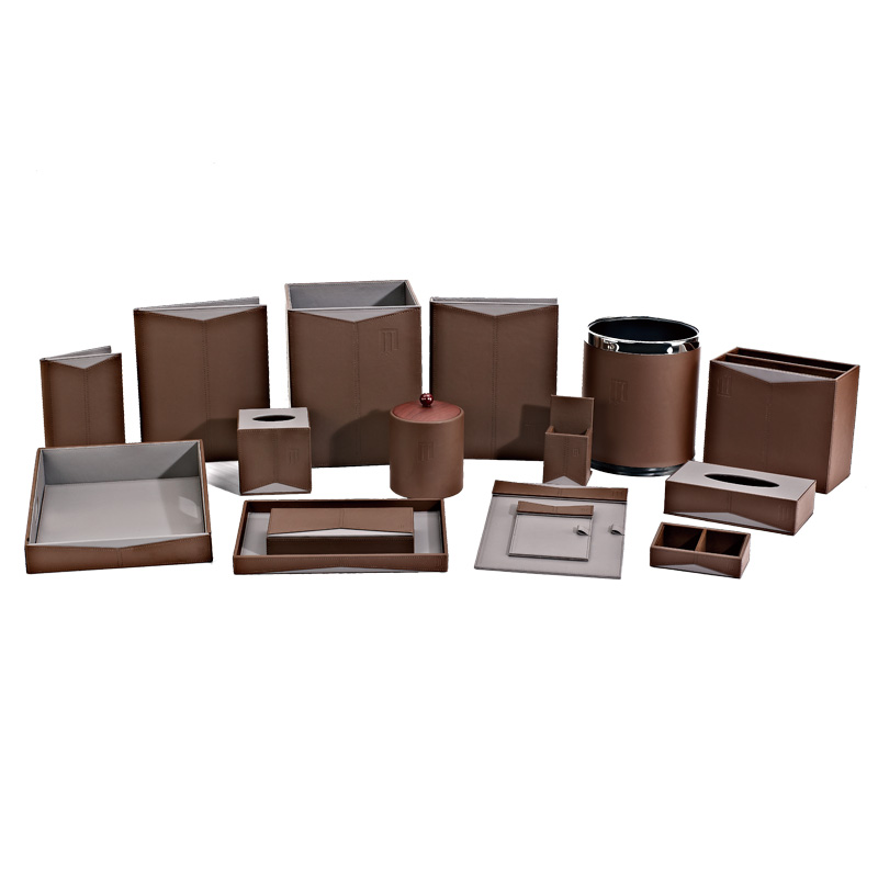 Fenghe-Find Amenity Trays For Hotels Leather Storage Bin From Fenghe Hotel Supplies