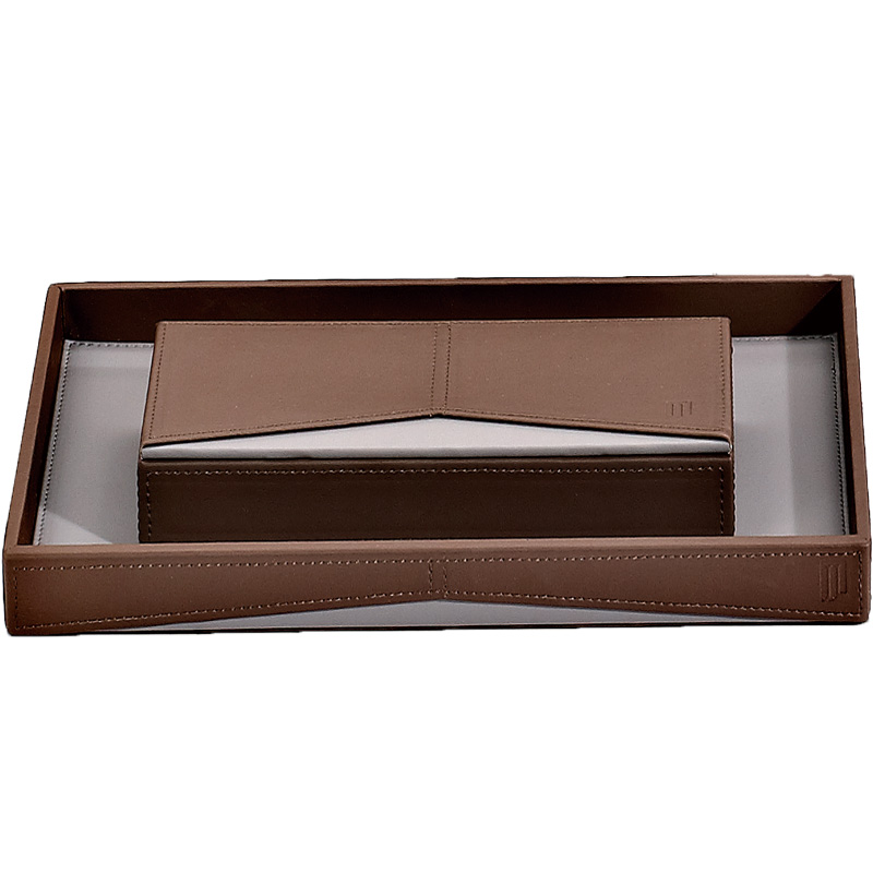 Fenghe-Find Amenity Trays For Hotels Leather Storage Bin From Fenghe Hotel Supplies-2