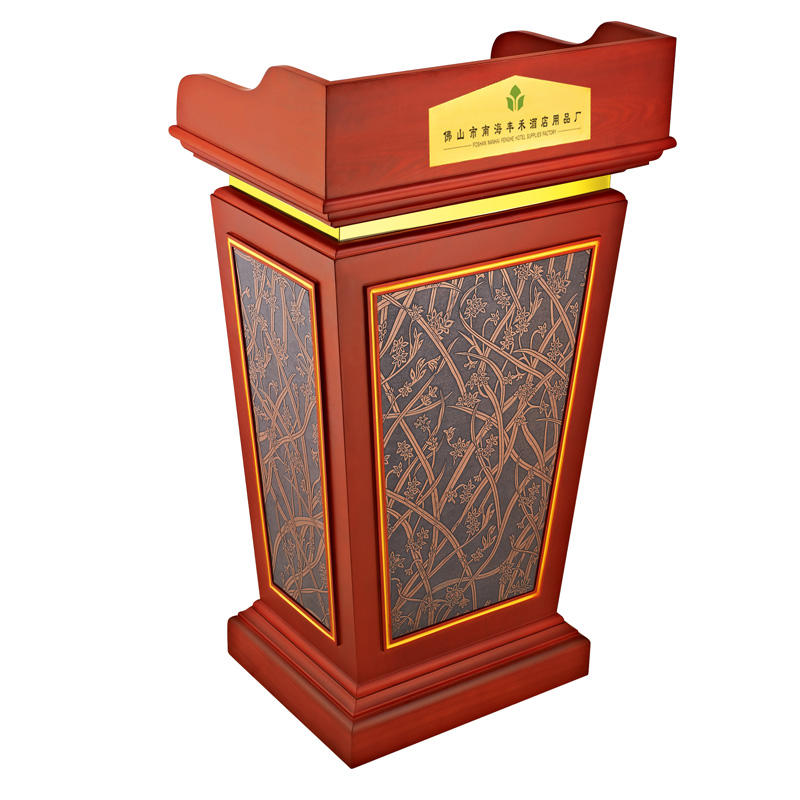 Hotel rostrum wooden church lectern pulpit