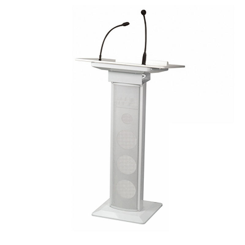 Manufacturer supply church lectern podium with microphone