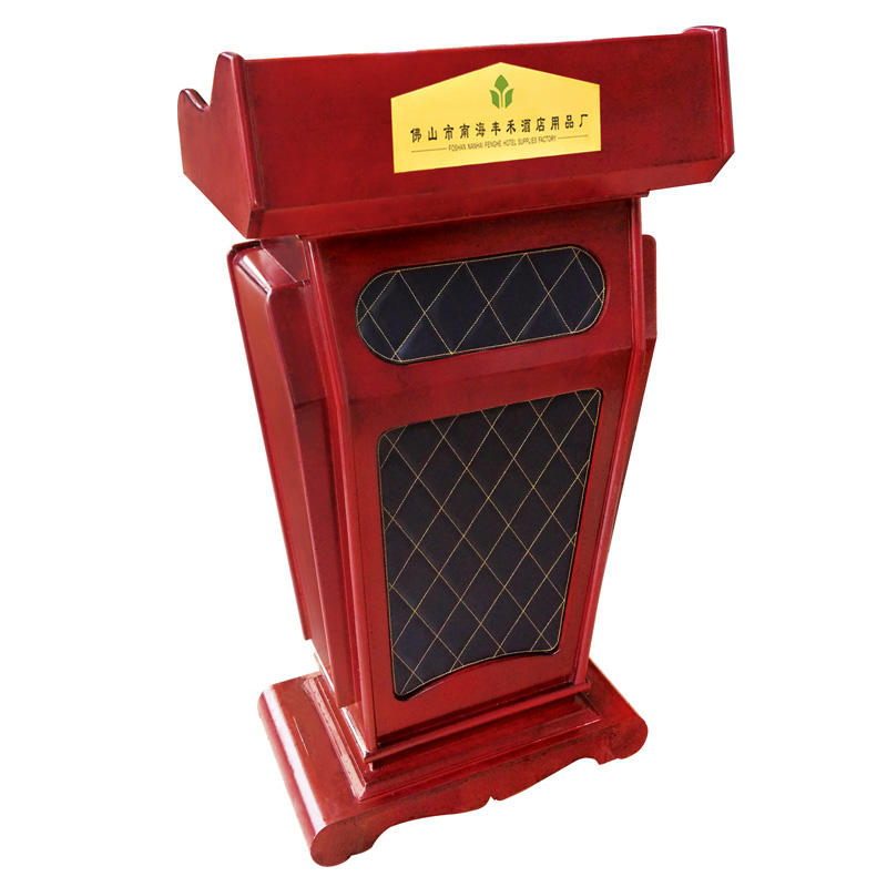 Fenghe microphone pulpit stand manufacturer for hotel industry