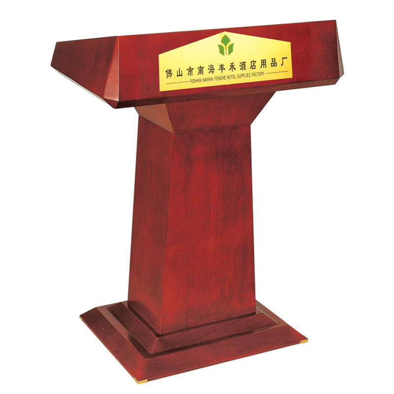 Wholesale hotel wooden speech lectern podium