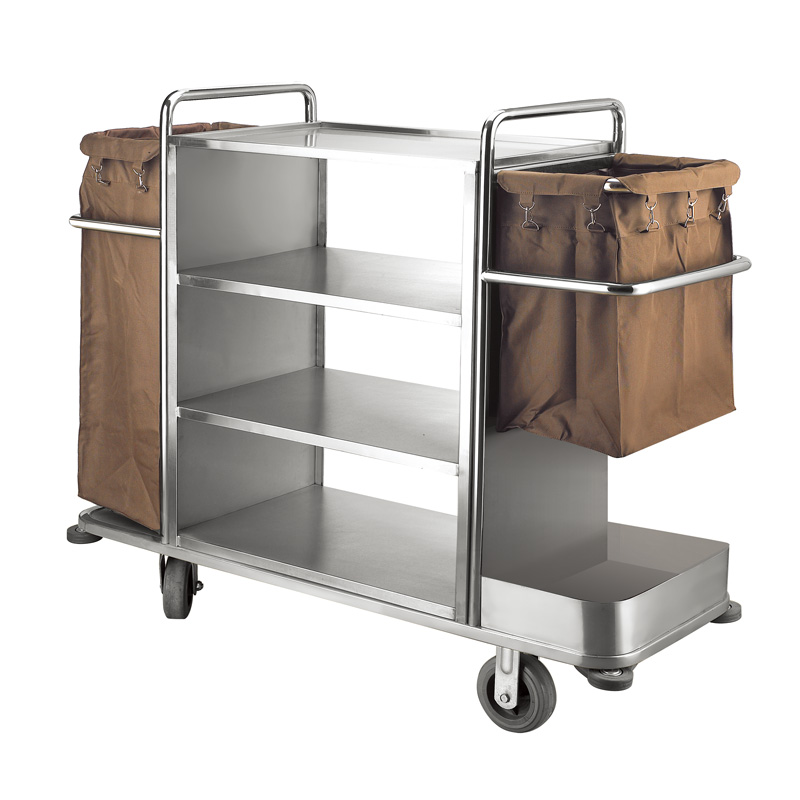 Fenghe-Hotel Laundry Trolley Customization, Housekeeping Cart Organizer   Fenghe