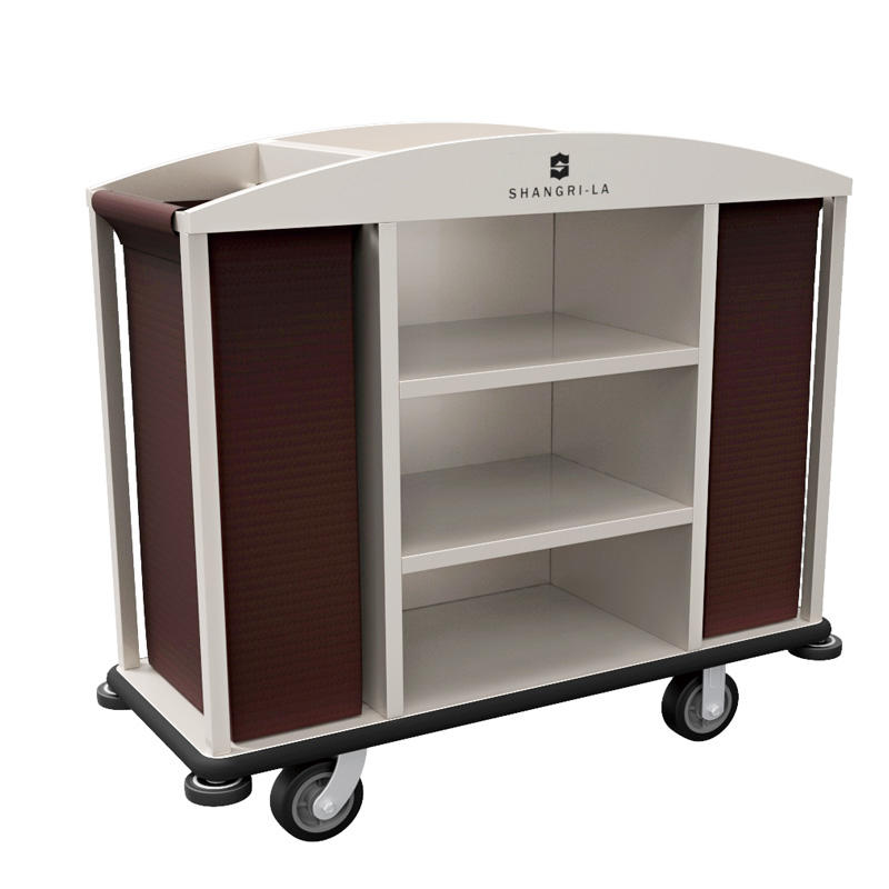 Hotel housekeeping service trolley service maid's cart