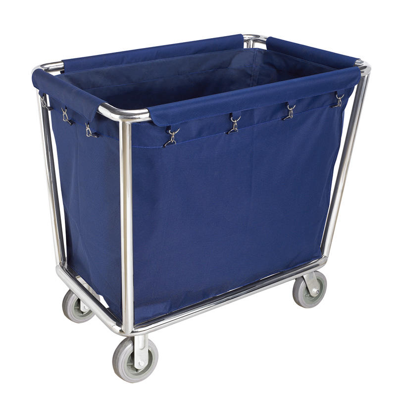 Hotel room housekeeping trolley maid cart laundry service cart