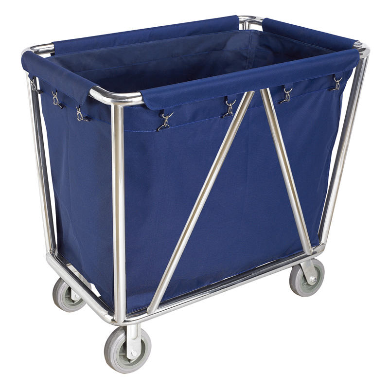 Modern design hotel room service cart with wheels