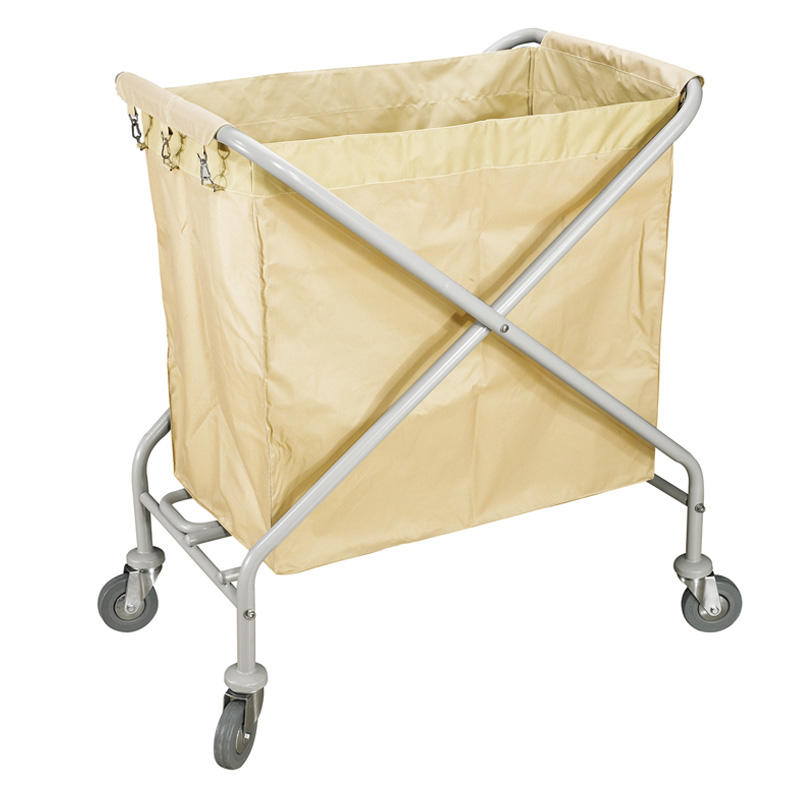 Hotel housekeeping laundry service cart linen trolley