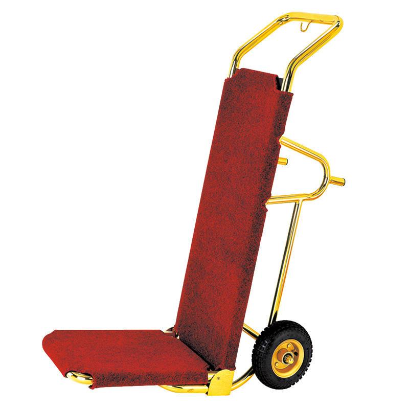 Modern design hotel lobby trolley service luggage cart