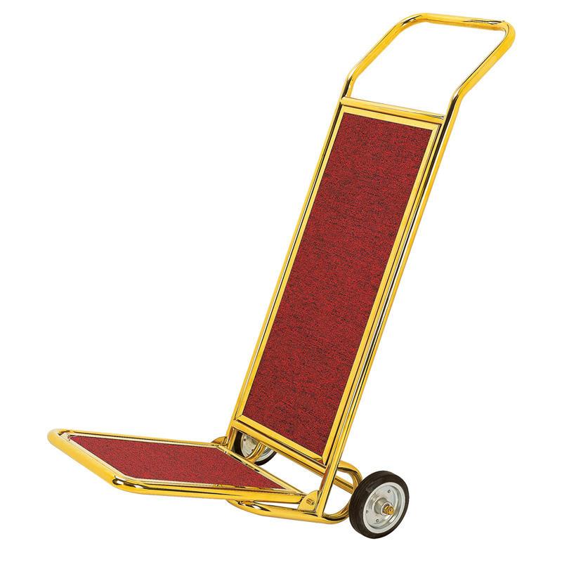 Luxury portable hotel lobby service luggage cart