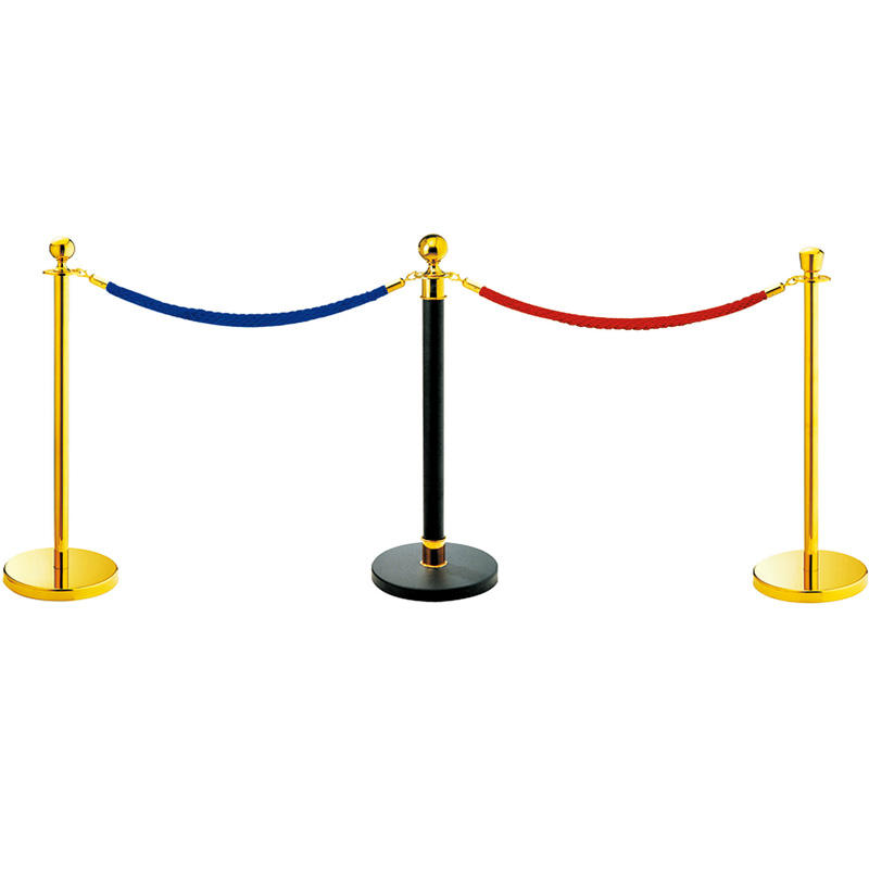 Hotel stainless steel queue stanchion stand