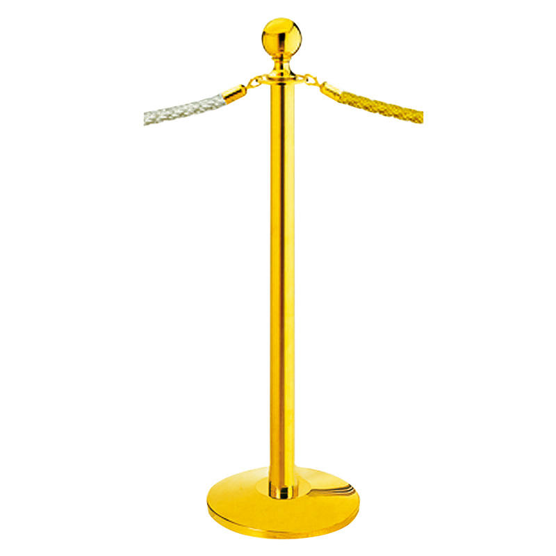 Hotel barrier stanchion queue pole stand