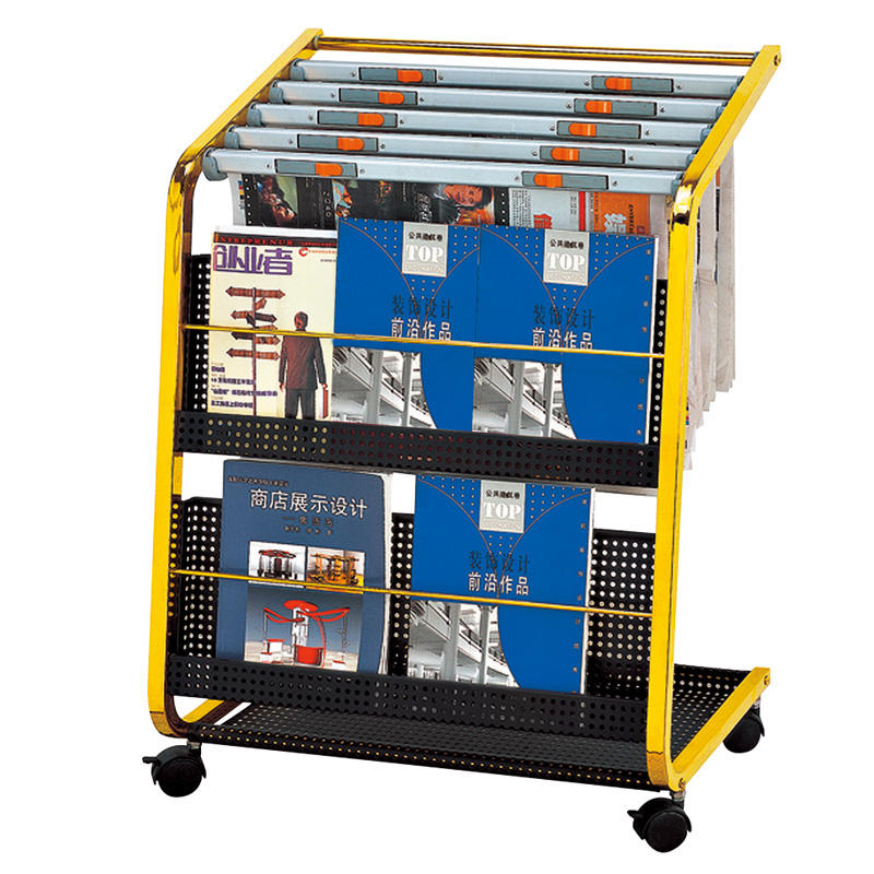 Wholesale hotel newspaper racks magazine display racks