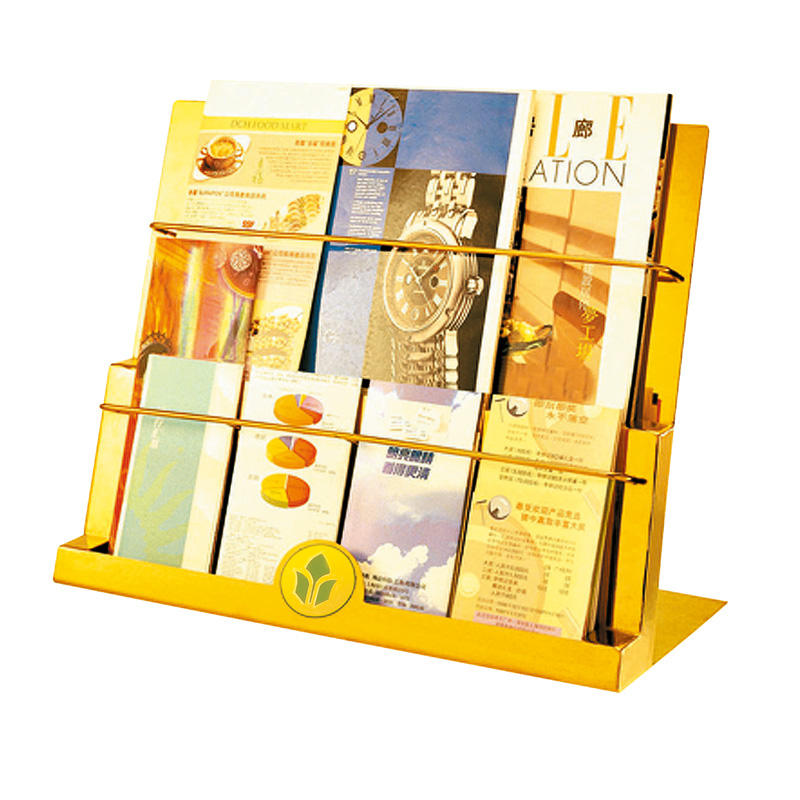 Fenghe most popular newspaper display rack quick transaction for hotel