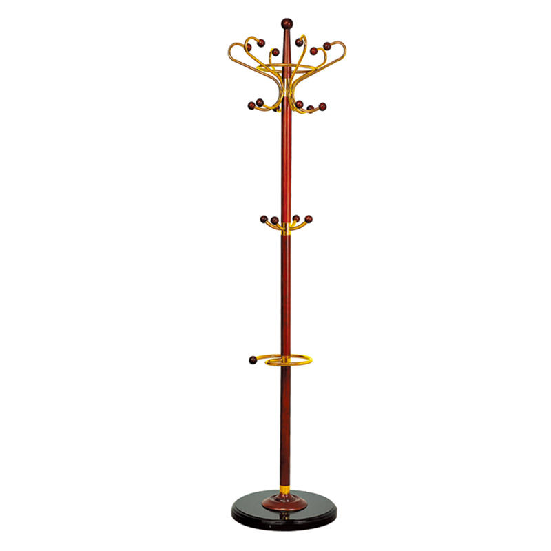 Hotel vertical antique clothes tree clothes stand coat racks