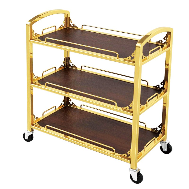 Fenghe-Oem Vintage Drinks Trolley Manufacturer | Hotel Liquor Cart