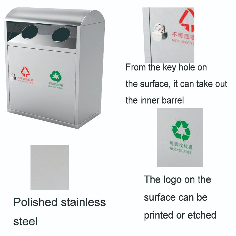 Fenghe-Outdoor Bin Manufacturer, Outdoor Waste Bin | Fenghe