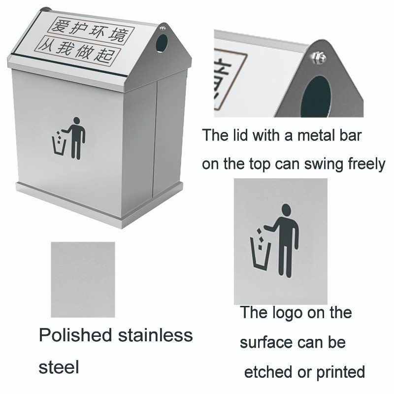 Fenghe-Oem Odm Outdoor Trash Can Price List | Fenghe Hotel Supplies