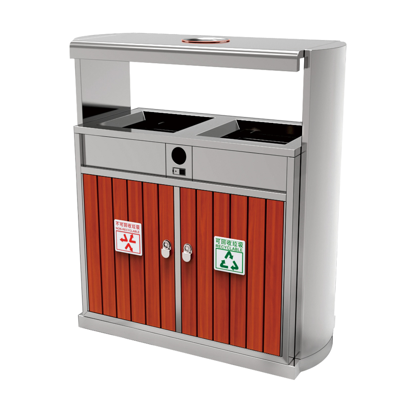 Fenghe-Oem Outdoor Garbage Bins Manufacturer, Metal Outdoor Garbage Cans | Fenghe