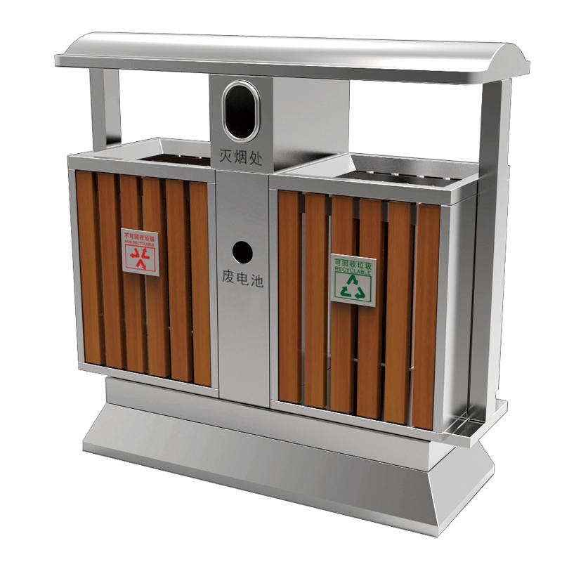 Outdoor WPC  recycling garbage bin waste bin trash bin