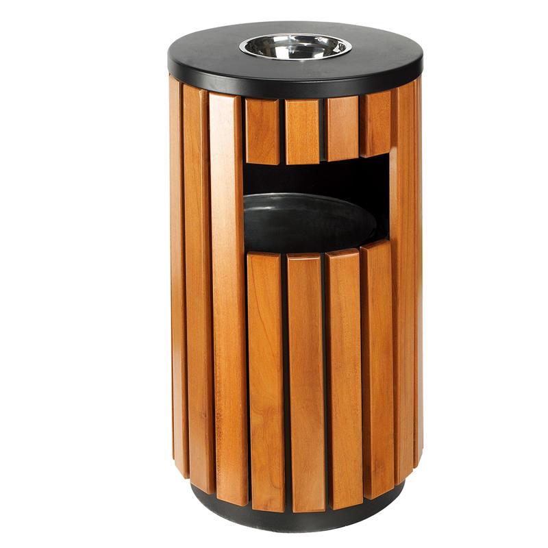 Wholesale outdoor round garden recycle bin waste bin trash bin