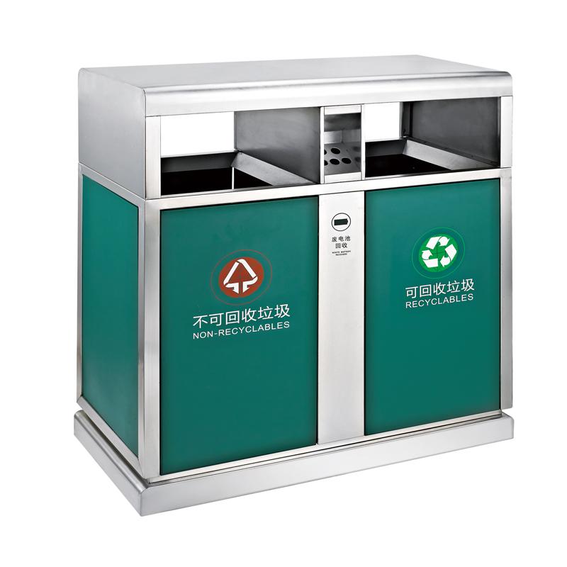 Fenghe-Outdoor Bin Manufacturer, Outdoor Metal Trash Can | Fenghe
