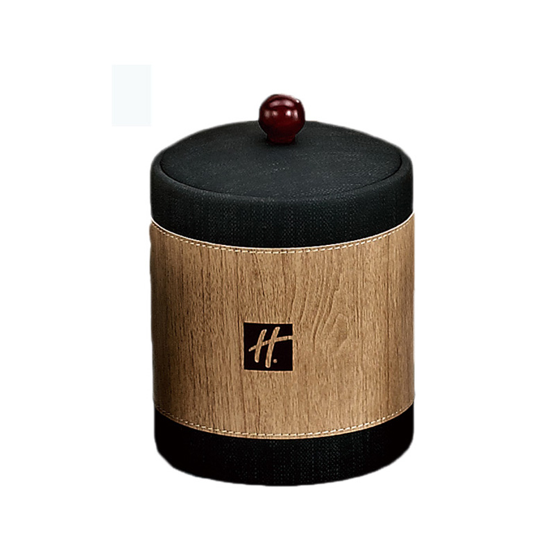 Fenghe-Leather File Folder, Hotel Room Dark Brown Leather Products , Leather Menu Folder-2
