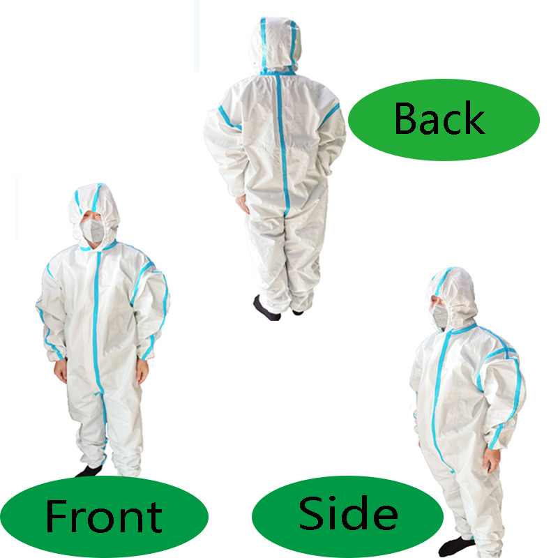 product-Fenghe-Disposable non-woven fabric protective suit protective clothing-img