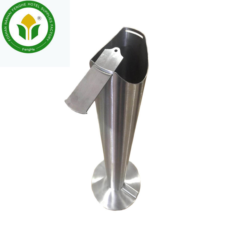 Stainless steel standing foot pedal hand sanitizer stand dispenser