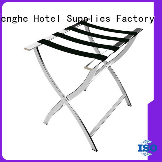 Fenghe high reliability‎ hotel suitcase holders supplier for hotel