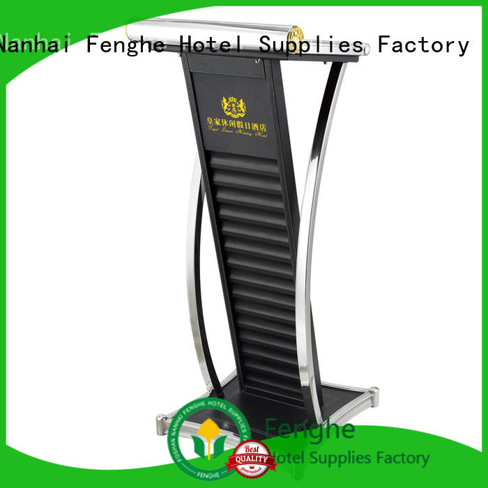 Fenghe 5 star service pulpit stand manufacturer for seminars