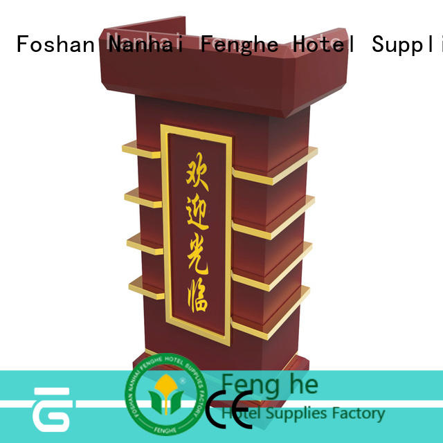Fenghe pedal pulpit lectern factory for bankquet halls