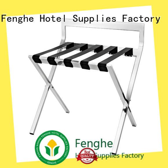 Fenghe dedicated service hotel suitcase holders wholesaler trader for hotel