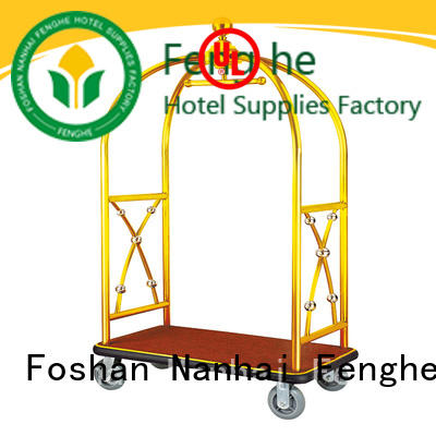OEM ODM hotel luggage cart four order now for gym