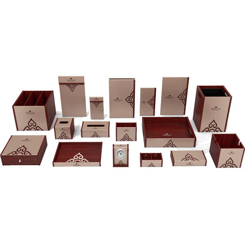 elegant leather tissue box cover holderpu leading company for hotel-1