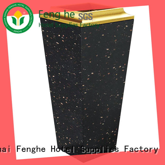 Fenghe 5 star service ashtray bin overseas market for hotel
