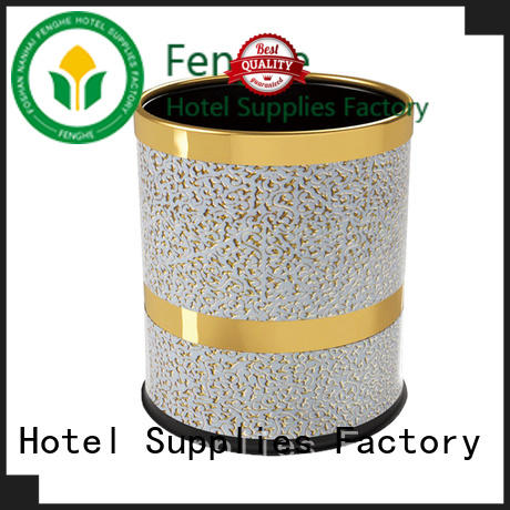 Fenghe hotel hotel room trash cans quick transaction for importer
