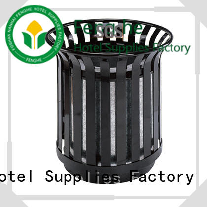 Fenghe deluxe best outdoor garbage can recycling for public house